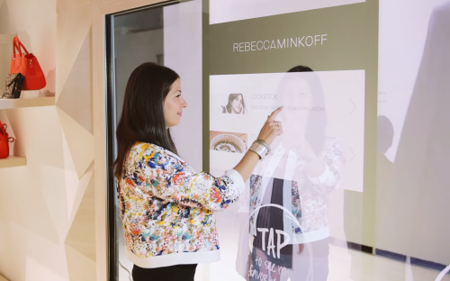 Rebecca Minkoff creates the most futuristic and innovative retail experience yet!